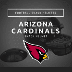 Arizona Cardinals Football Snack Helmet