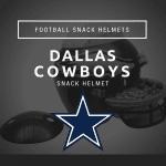 Dallas Cowboys Football Snack Helmet