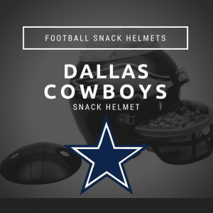 Dallas Cowboys Football Snack Helmet