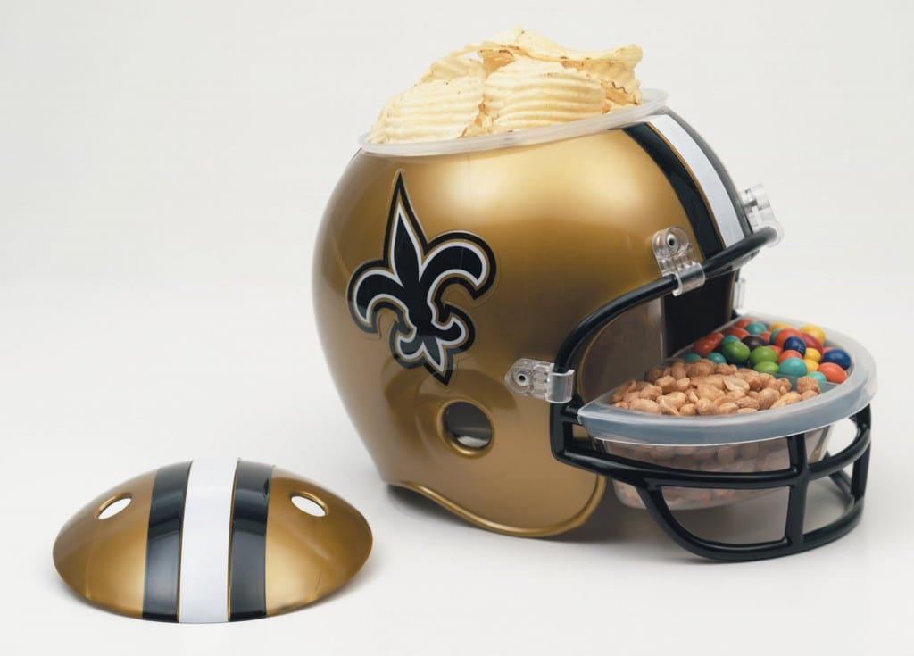 New Orleans Saints Snack Helmet