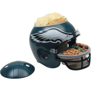 football snack helmets Philadelphia Eagles