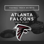 Atlanta Falcons Football Snack Helmet