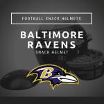 Baltimore Ravens Football Snack Helmet