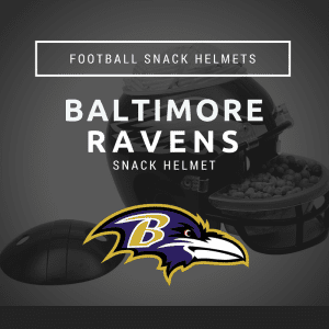 Baltimore Ravens Football Snack Helmet