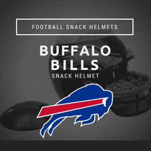 Buffalo Bills Football Snack Helmet