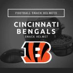 Cincinnati Bengals Football Snack Helmet