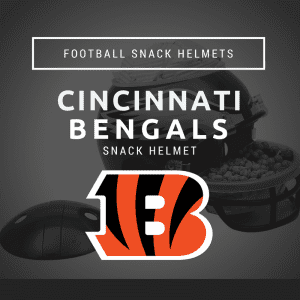 Cincinnati Bengals Football Snack Helmet