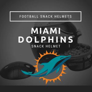 Miami Dolphins Snack Helmet