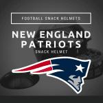 New England Patriots Snack Helmet