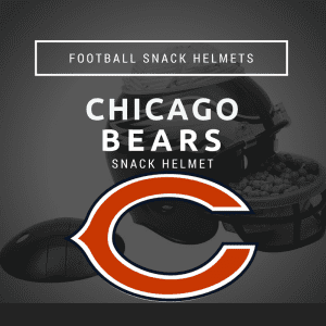 Chicago Bears Football Snack Helmet