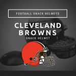 Cleveland Browns Football Snack Helmet