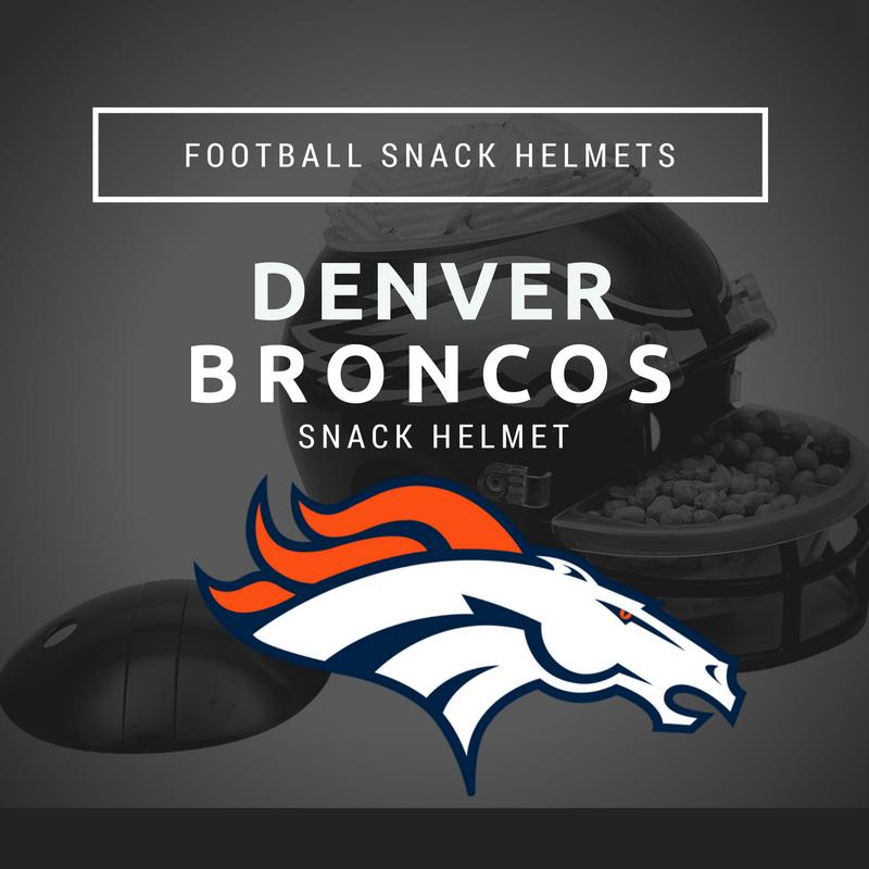 Denver Broncos Snack Helmet