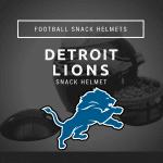 Detroit Lions Snack Helmet