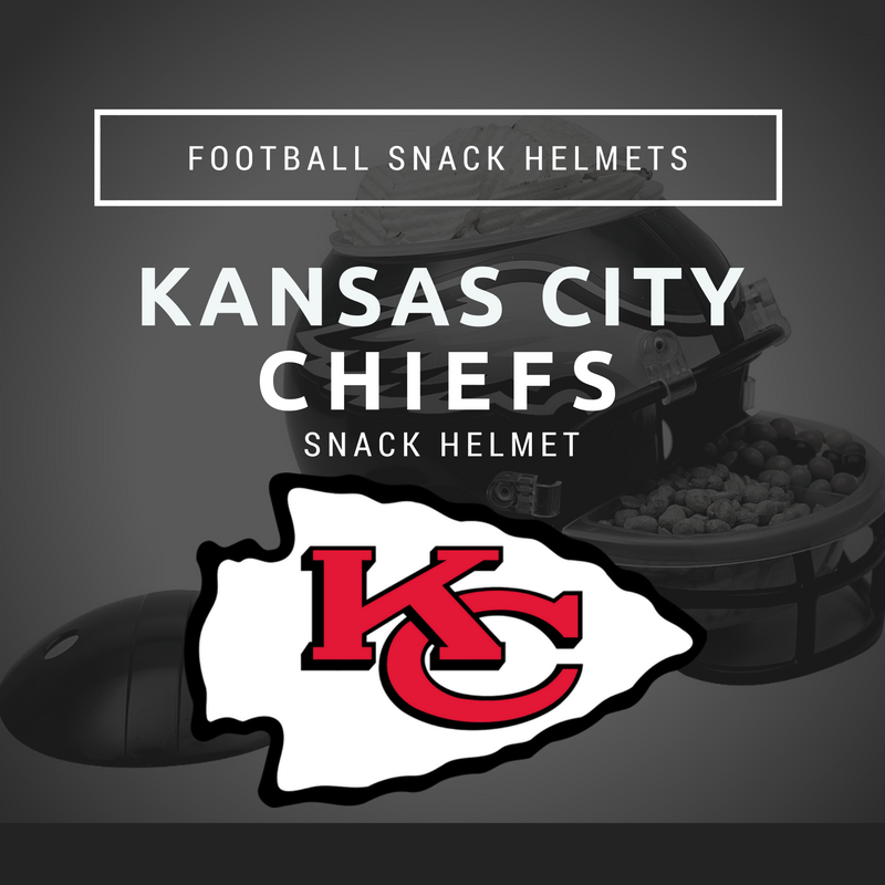 Kansas City Chiefs Snack Helmet 187 Football Snack Helmets