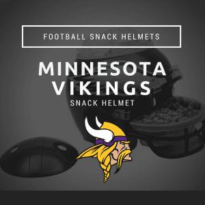 Minnesota Vikings Snack Helmet