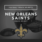 New Orleans Saints Snack Helmet
